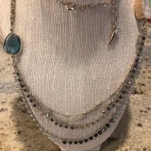 Chloe + Isabel Jewelry - Starry Night Druzy Long Necklace